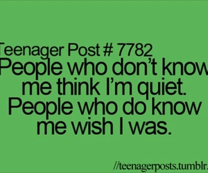 funny, teenager post, and quiet image