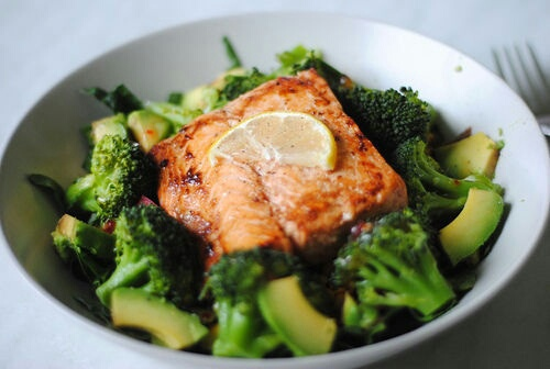 food, healthy, and vegetables image