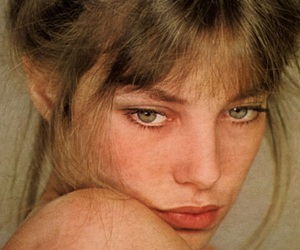 jane birkin, model, and vintage image
