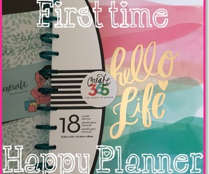 planner, happy planner, and mambi image