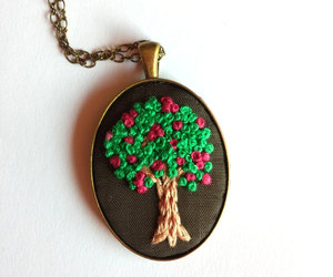 art jewelry, pendant necklace, and indie jewelry image