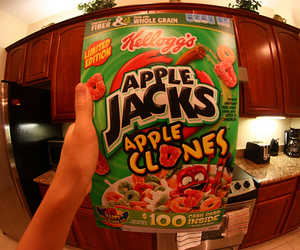 photography, cereal, and apple jacks image