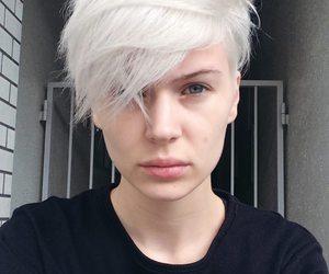 aesthetic, blue eyes, and grunge image
