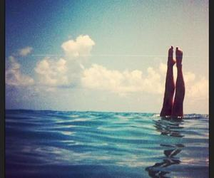 sea, summer, and beatiful day image