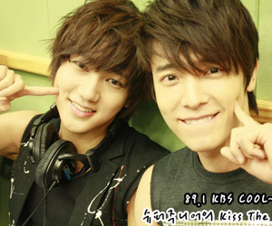 donghae, yesung, and super junior image