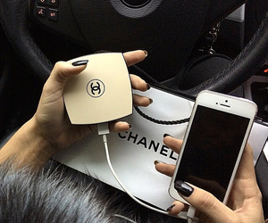 chanel, iphone, and luxury image