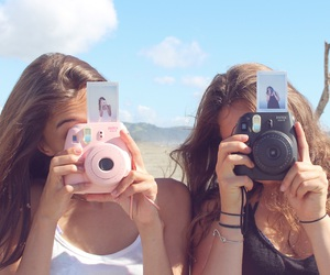 beach, beautiful, and best friends image