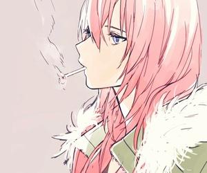 anime, manga, and smoke image