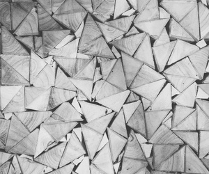 grey, pattern, and triangle image