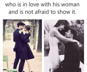 love, couple, and man image