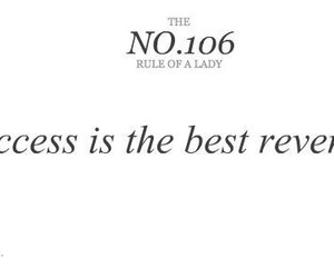 quote, success, and revenge image