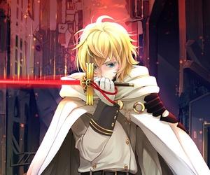 owari no seraph, anime, and anime boy image