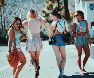 coachella, tumblr, and friendship image