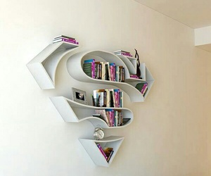 book, superman, and room image