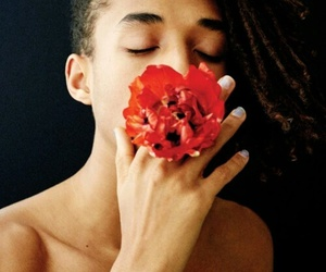 flowers, jaden smith, and smith image