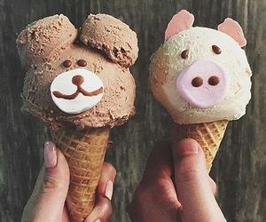 ice cream, food, and animal image
