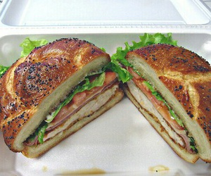 food, foodie, and sandwiches image