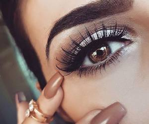 beautiful, eye, and fashion image
