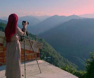 escape, nature, and muslima image