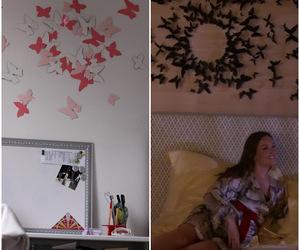 bedroom decor, gossip girl, and fashion image