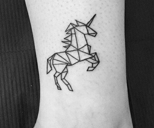 tattoo and unicorn image