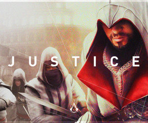 justice, assassin's creed, and ac2 image