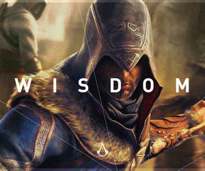 wisdom, assassin's creed, and ac2 image