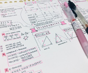 study, notes, and school image