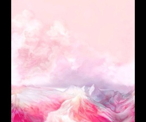 nature, white, and pink image