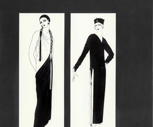 etsy, vintage art deco, and 1924 image