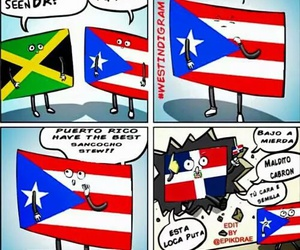 Caribbean, Dominican Republic, and flags image