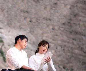 song joong ki, descendants of the sun, and song hye kyo image