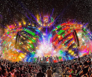 ultra music festival, edm, and love image