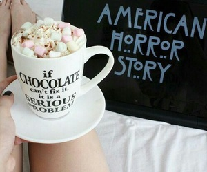 american horror story, chocolate, and ahs image
