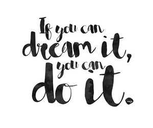 Dream, girl, and inspiration image
