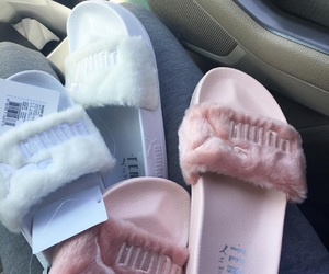 beauty, pink, and sandals image