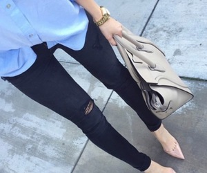 chic, outfit, and classy image