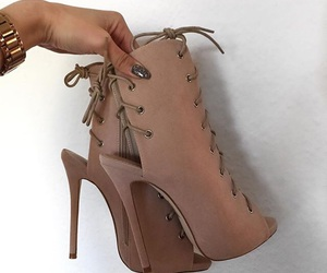 heels, shoes, and style image