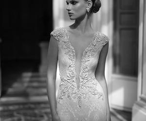 wedding, wedding dress, and berta bridal image
