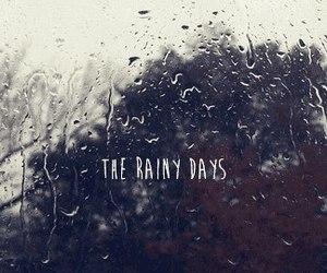 rain, autumn, and days image