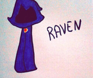 cartoon network, raven, and teen titans go image