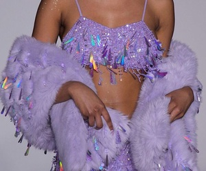 fashion, purple, and aesthetic image