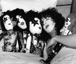 kiss, paul stanley, and bob gruen image