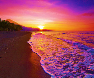 amazing, beach, and colorful image