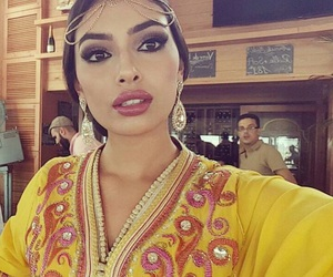 moroccan, arab, and beauty image