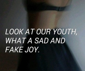 sad, quotes, and youth image