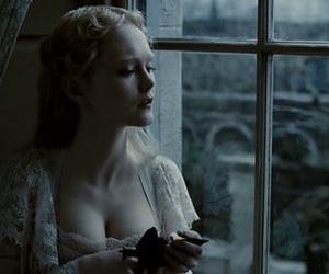 sweeney todd, girl, and window image