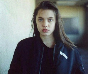 Angelina Jolie, young, and angelina image
