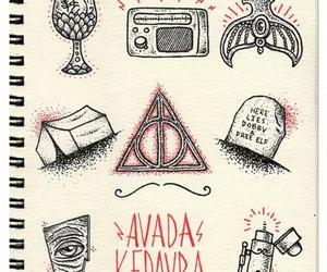 harry potter, avada kedavra, and hp image