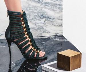 Balmain, fashion, and shoes image